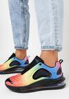 Czerwono-Niebieskie Sneakersy Laodoe