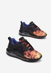 Czarno-Czerwone Sneakersy Laodoe