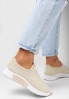Beżowe Buty Sportowe Jynynore
