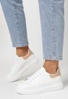 Biało-Beżowe Sneakersy Hypnotic