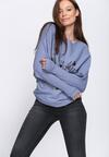 Niebieski Sweter Perfect Day