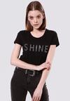 Czarny T-shirt Rich