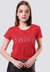 Czerwony T-shirt Rich