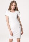Kremowa Sukienka Infinitely