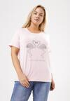 Różowy T-shirt Exceedingly