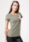 Zielony T-shirt Turnover