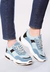 Niebieskie Sneakersy Outracing