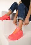 Koralowe Neonowe Buty Sportowe Classic Nilda