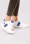 Biało-Niebieskie Buty Sportowe Teran