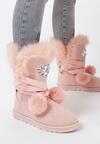 Różowe Śniegowce Ice Queen