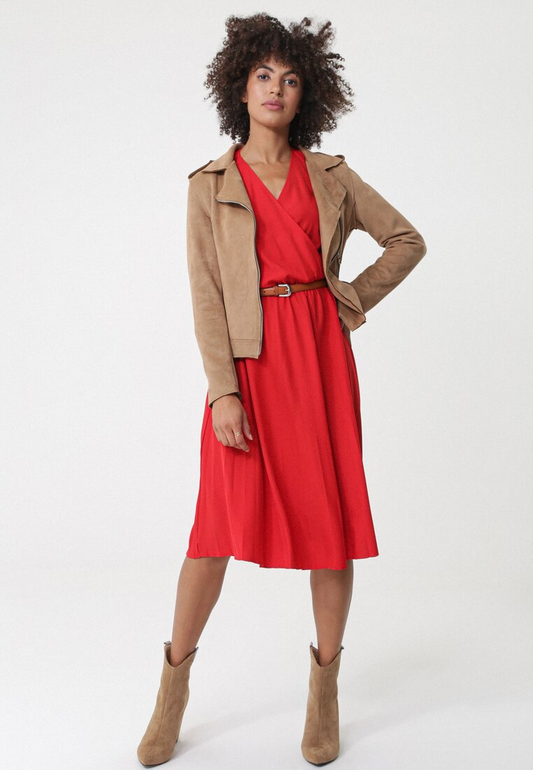 Czerwona Sukienka Laverton