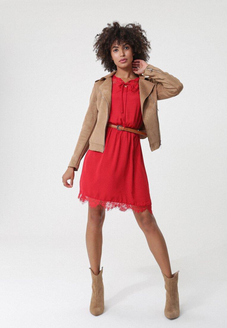 Czerwona Sukienka Nyora