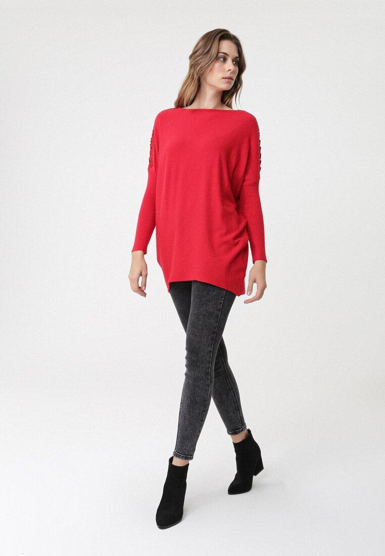 Czerwony Sweter Glenelg