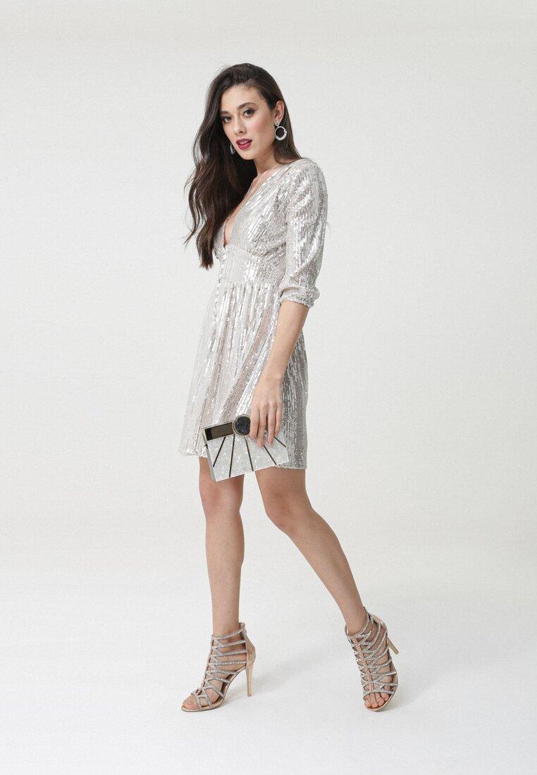 Jasnobeżowa Sukienka Montlake