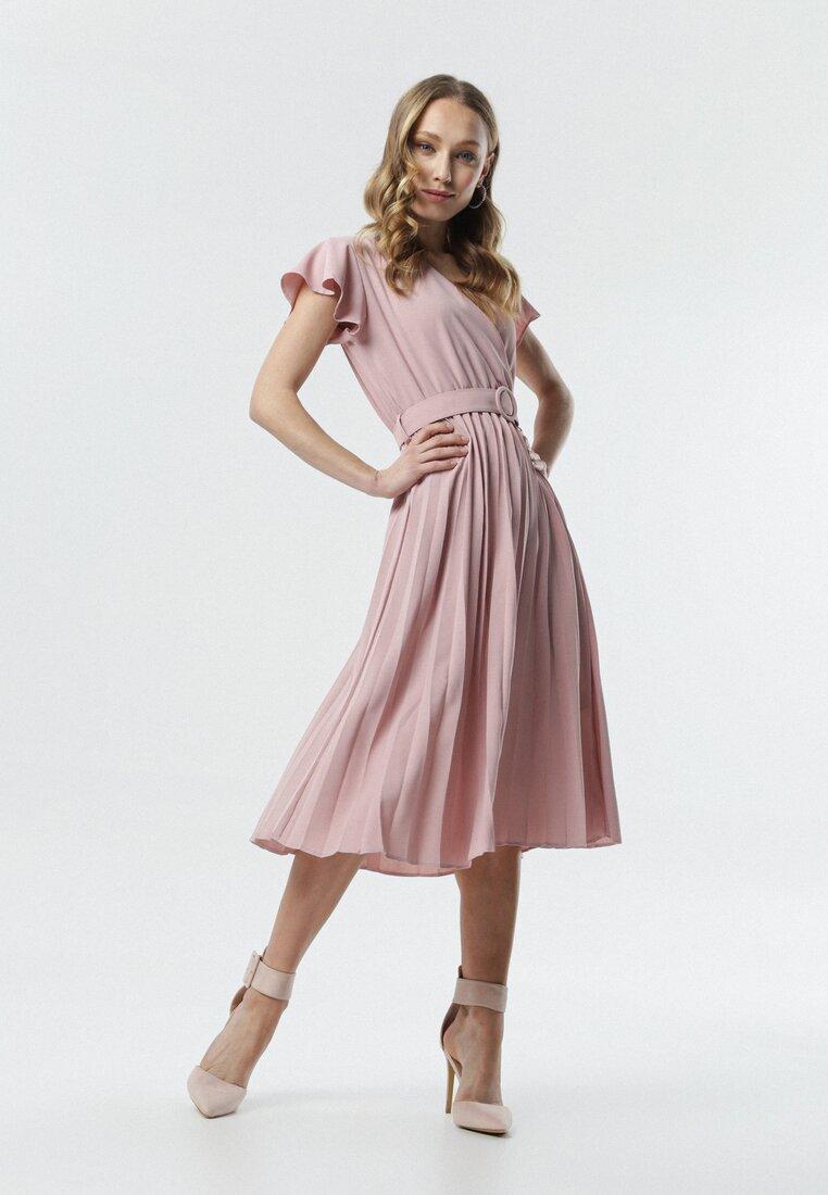 Jasnoróżowa Sukienka Samiyah