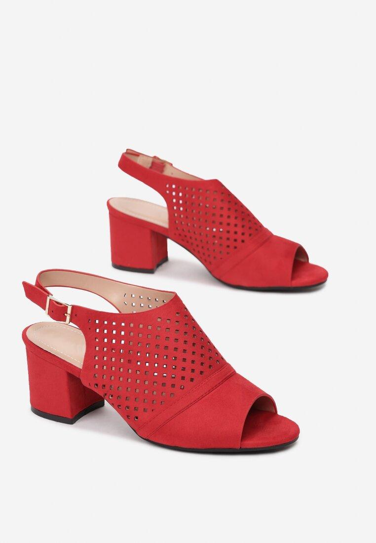 Czerwone Sandały Thessasea