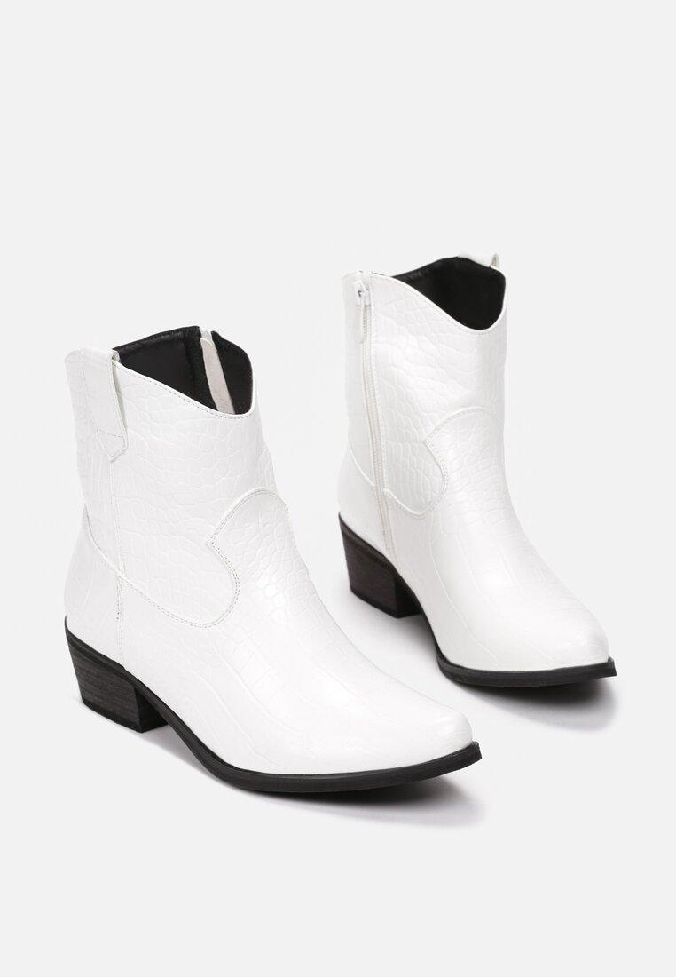 Białe Botki Doreaganne