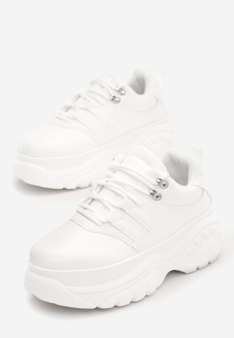 Białe Sneakersy Subdued