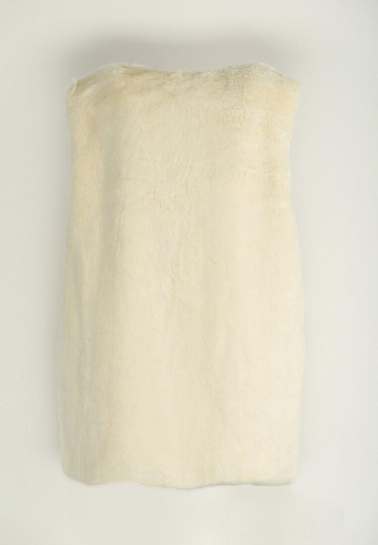 Biała Kamizelka Fluffy