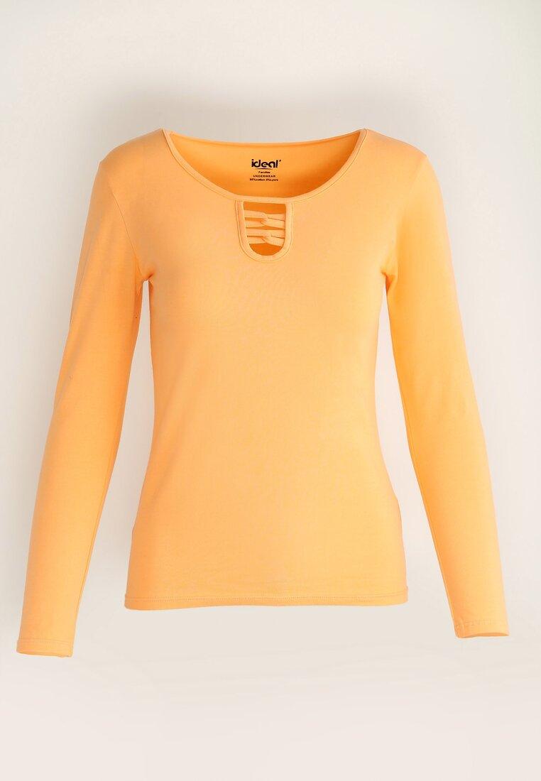 Pomarańczowa Bluzka Louder