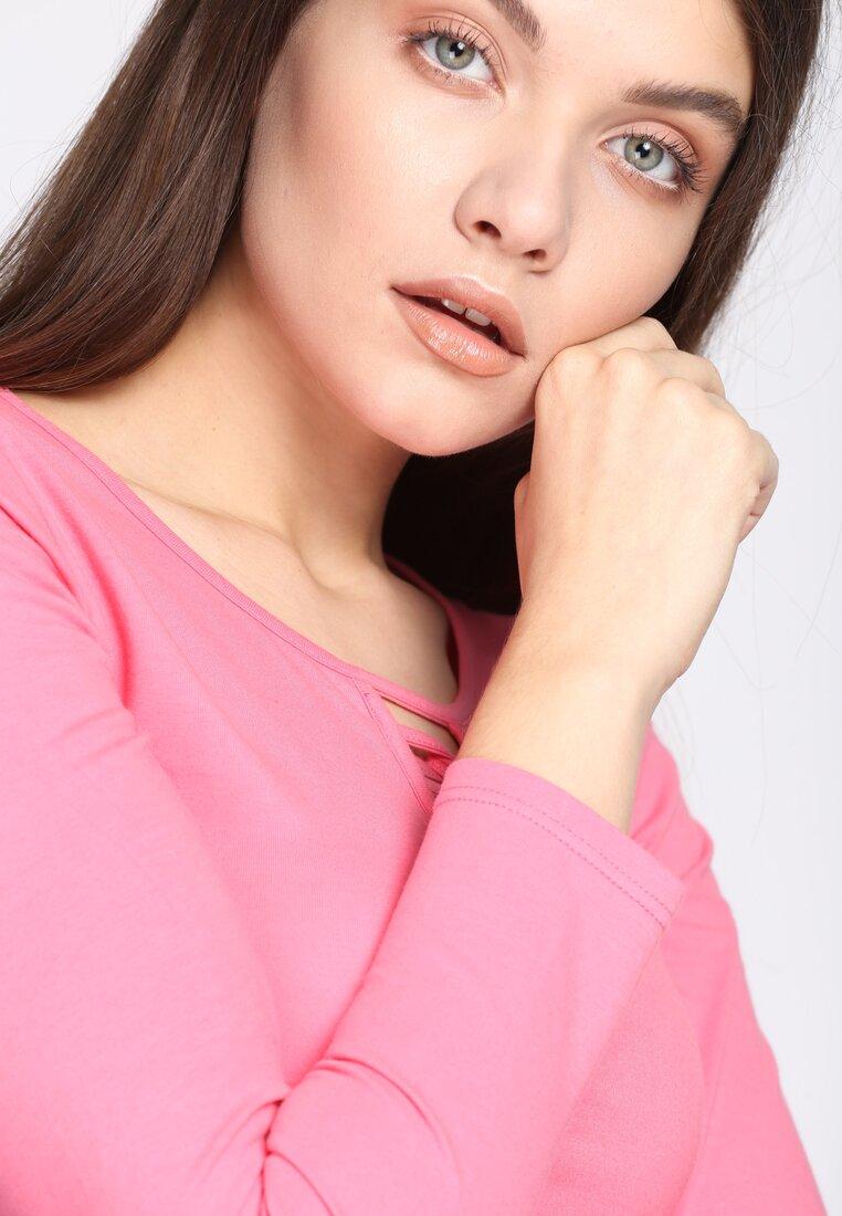 Różowa Bluzka Louder
