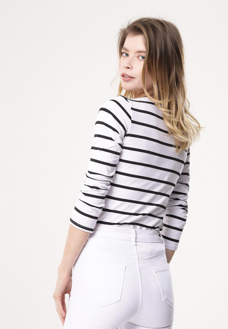 Biała Bluzka Sweet Sailor