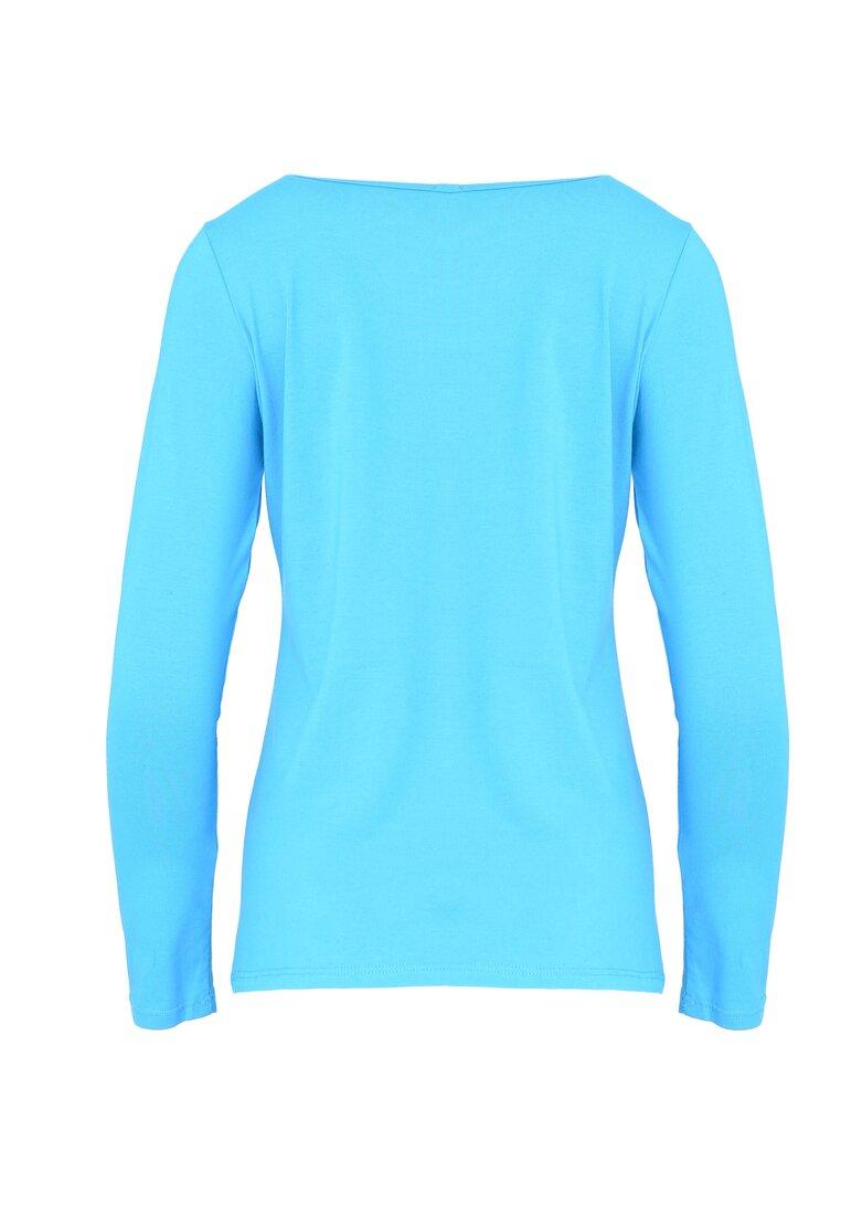Niebieska Bluzka Hey Girl