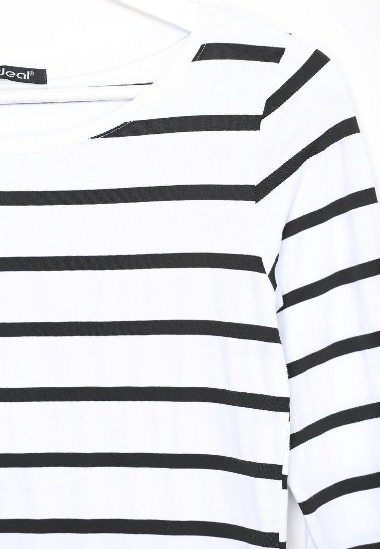 Biało-Czarna Bluzka Horizon