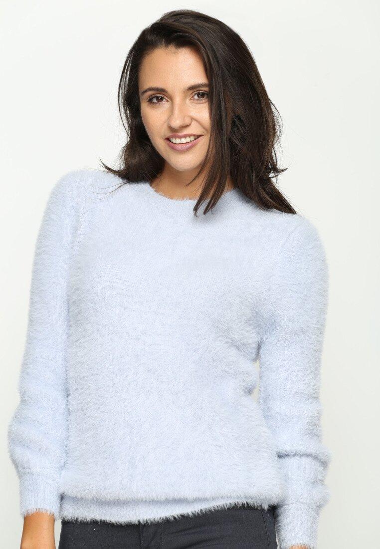 Jasnoniebieski Sweter Aliance