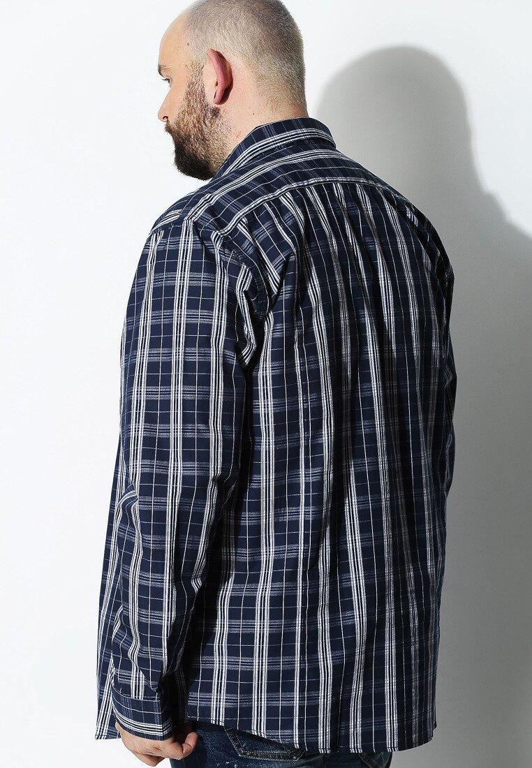 Granatowa Koszula Gently