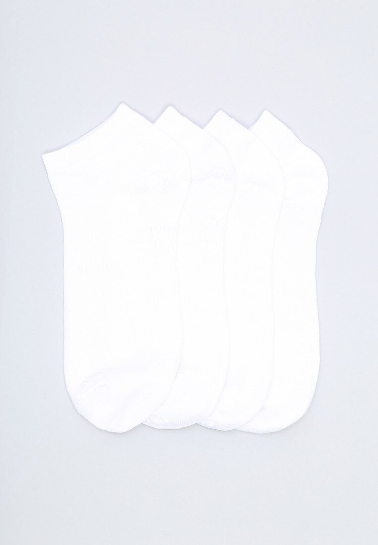 12-pack Białych Skarpetek Unruled Born2be 29092