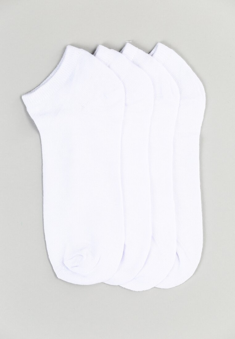 12-pack Białych Skarpetek Drag Me Down Born2be 29093