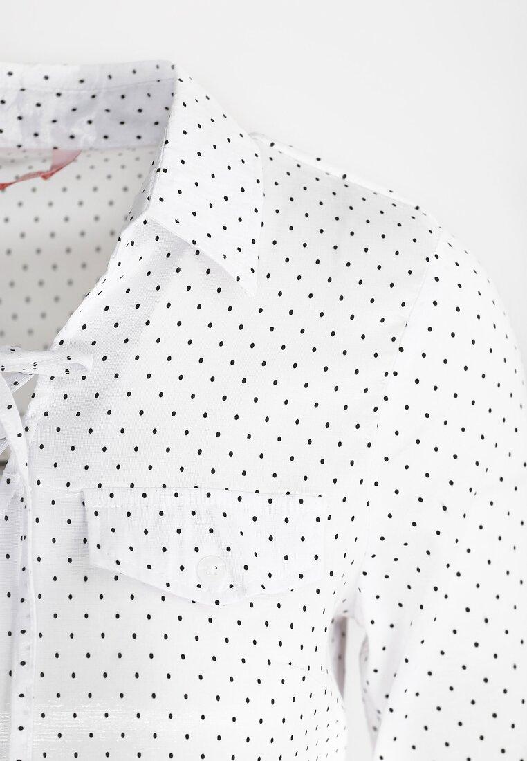 Biała Koszula Tiny Dot