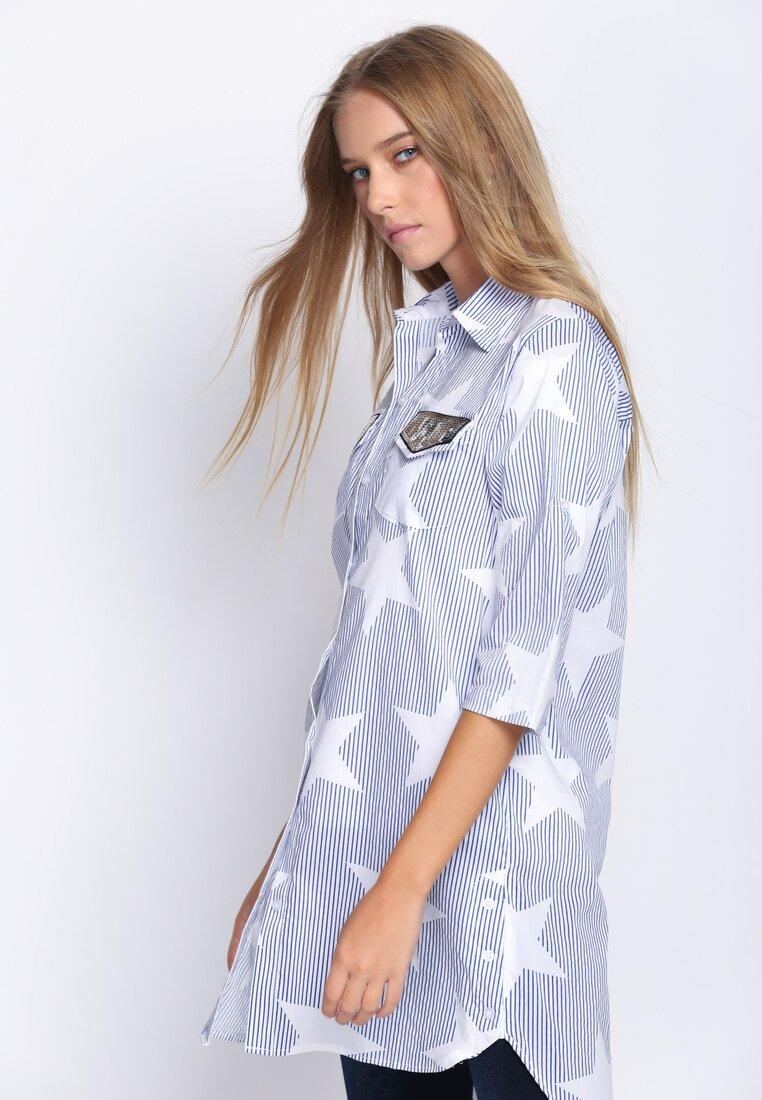 Niebieska Koszula Starshine