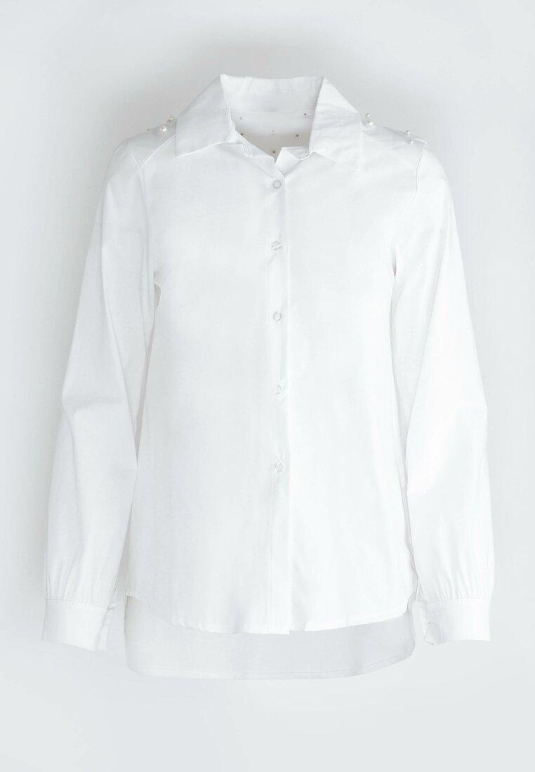Biała Koszula Queen Of Hearts