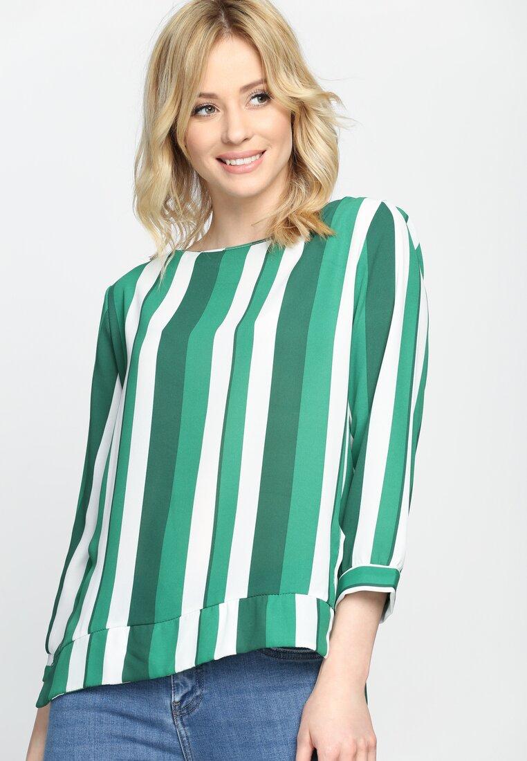 Zielona Bluzka Holding Pattern