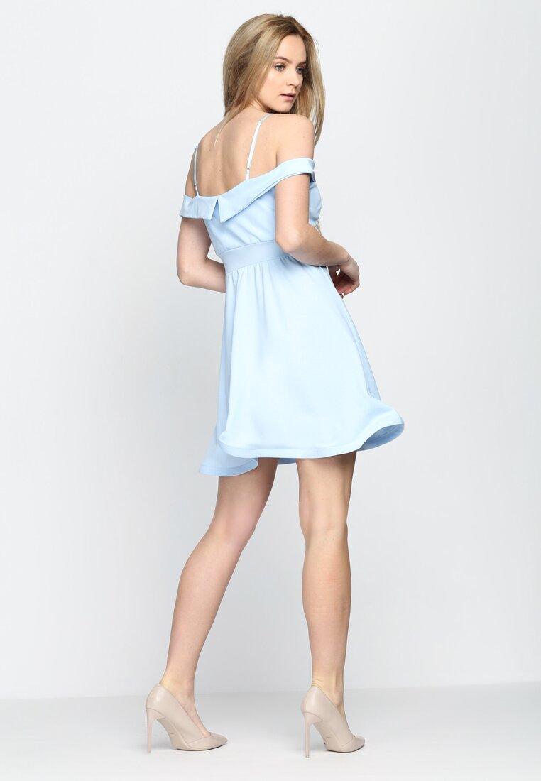 Jasnoniebieska Sukienka Party Favors