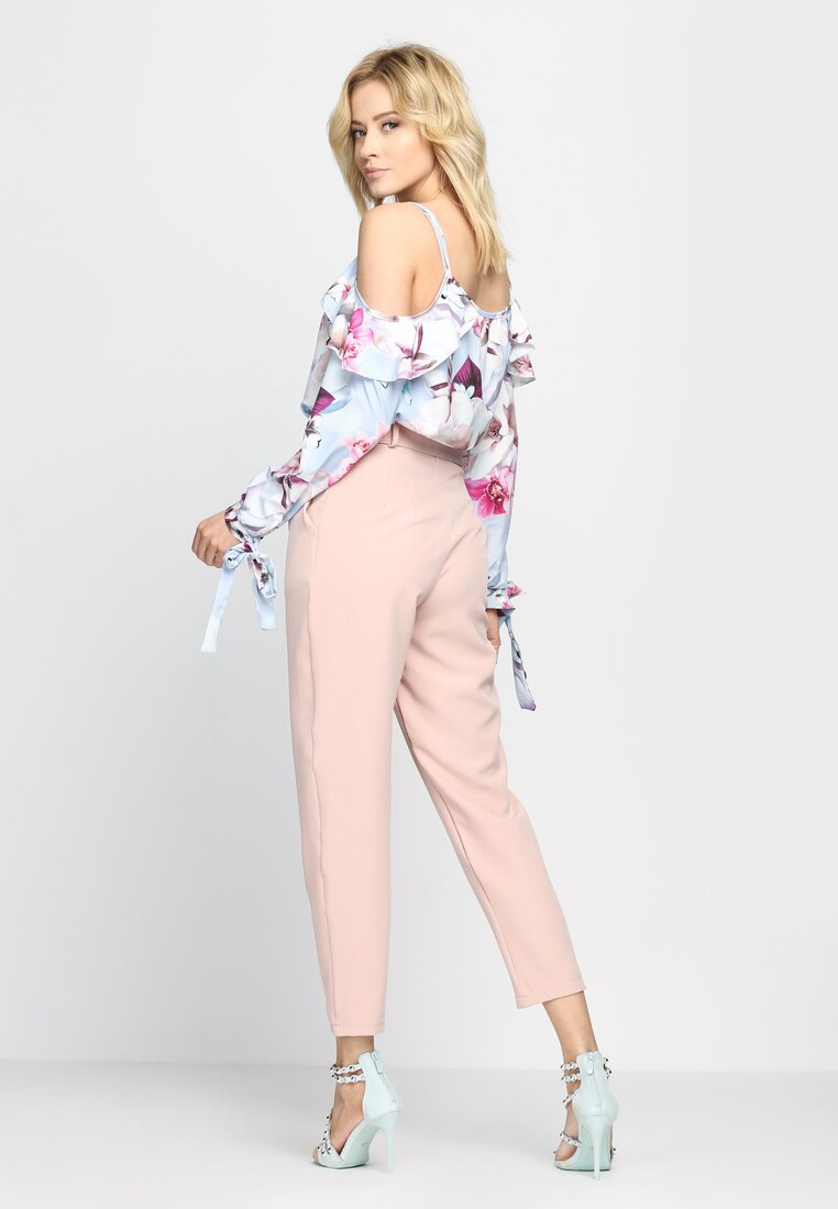 Różowe Spodnie Heart Is Calling