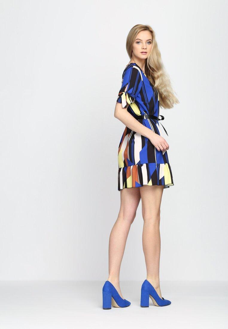 Ciemnoniebieska Sukienka Colors It s On