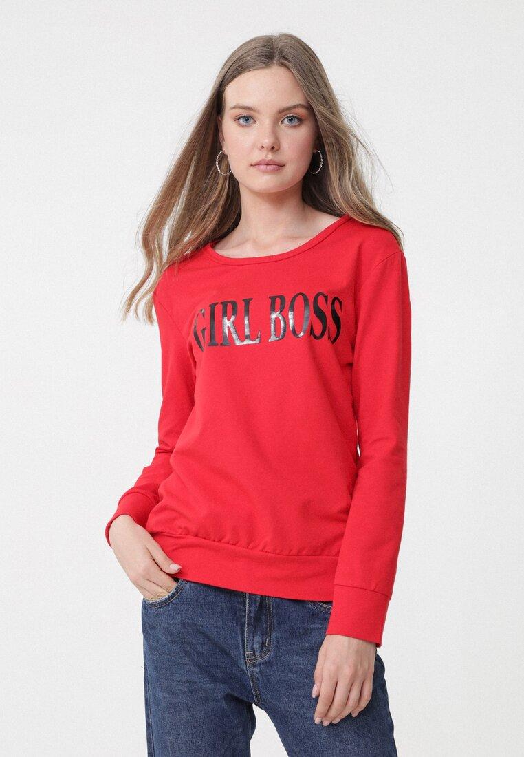 Czerwona Bluza Lady Boss other