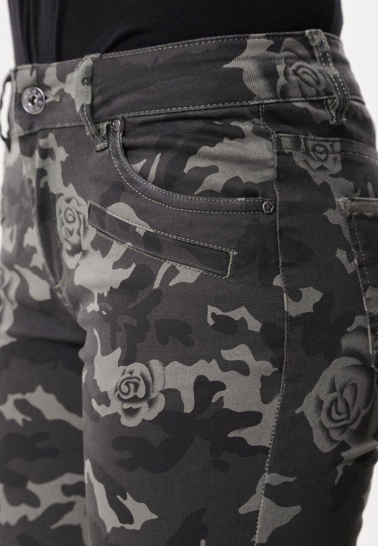 Zielone-Moro Spodnie Substitute