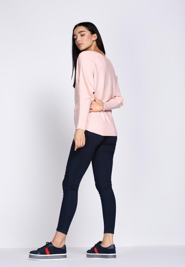 Różowy Sweter Perfect Day