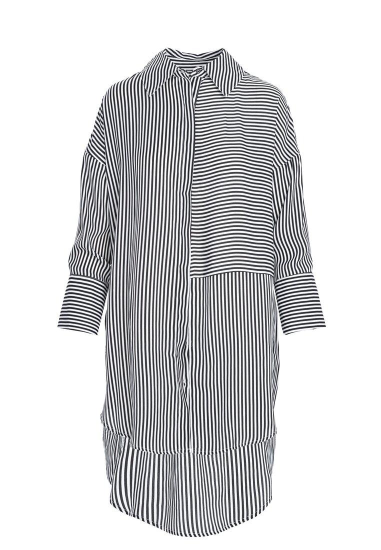 Czarno-Biała Koszula Bright Side