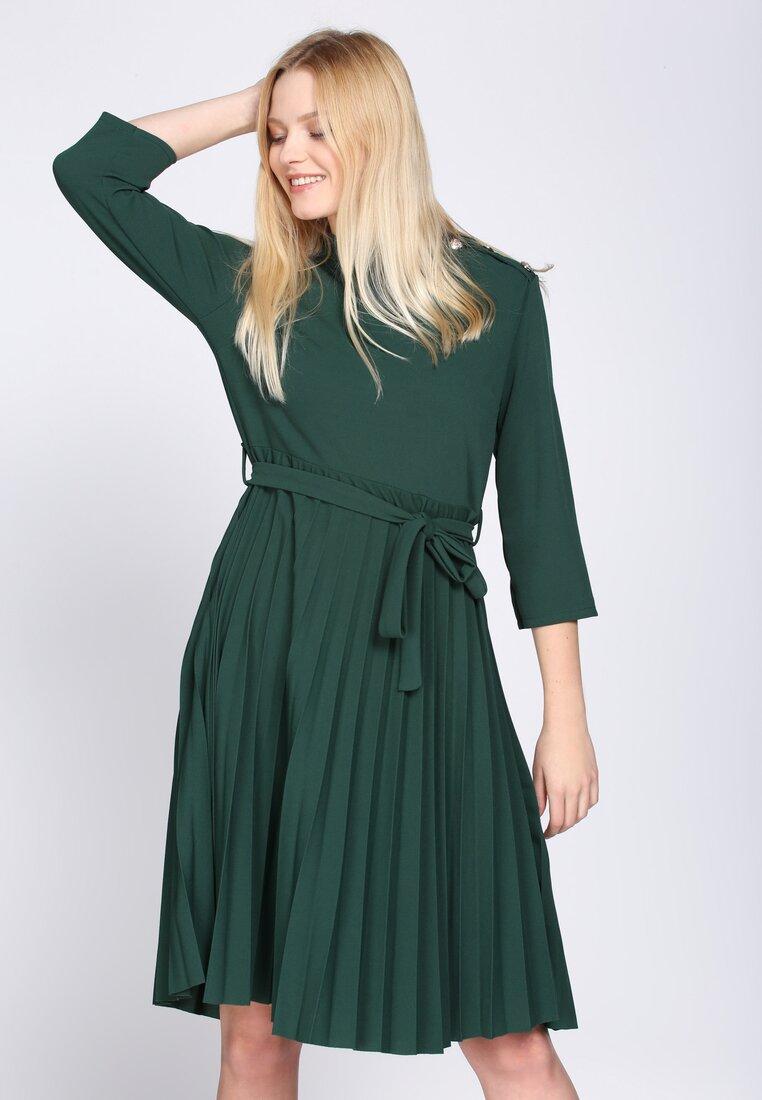 Zielona Sukienka A Little Love