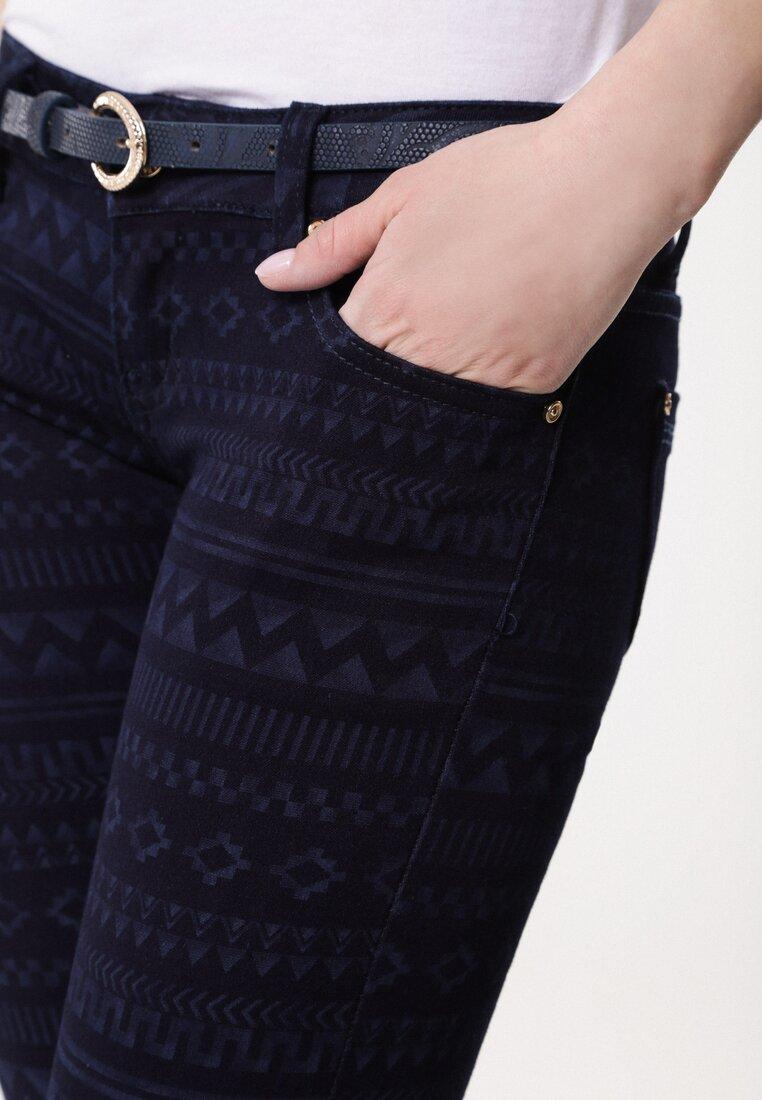 Granatowe Spodnie Survive