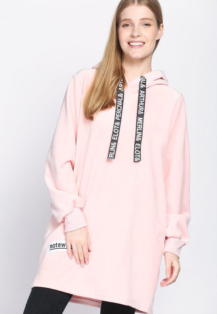 Różowa Bluza Fluorescent