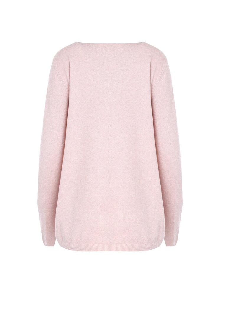 Różowy Sweter Fast Drive