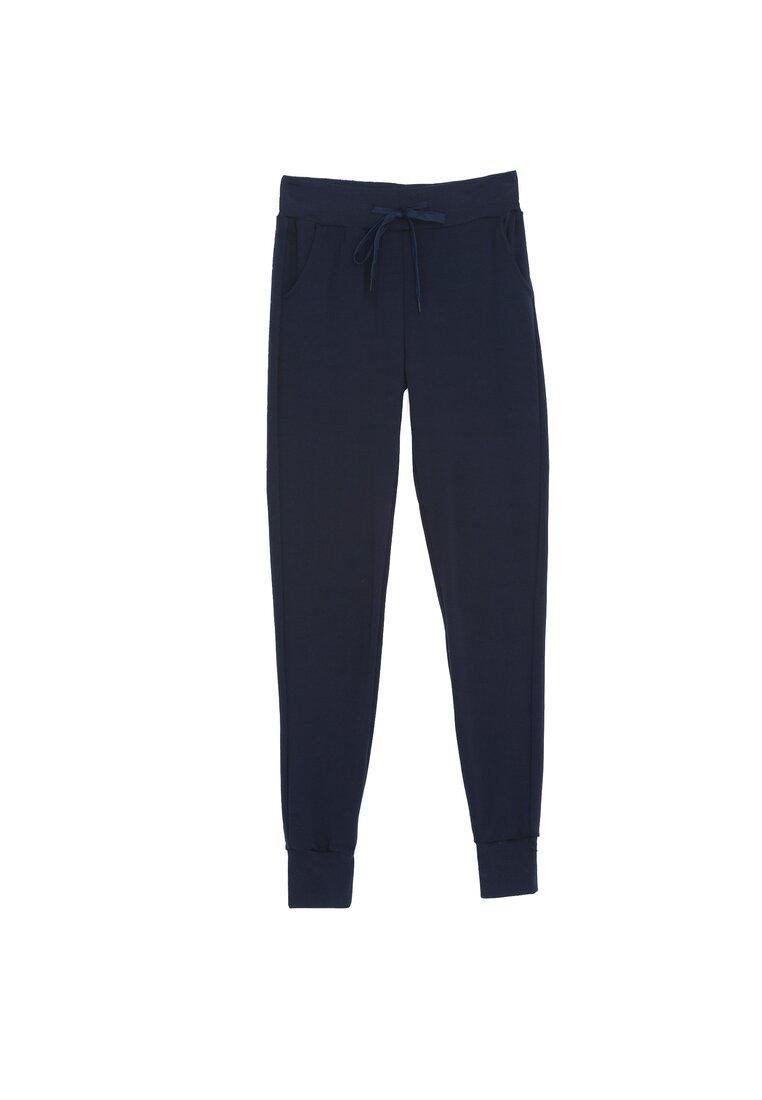 Granatowe Spodnie DresoweOccasion