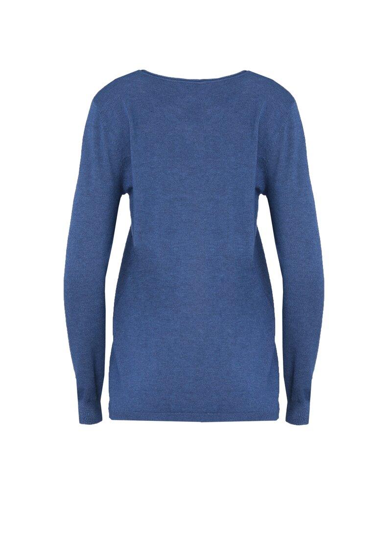 Niebieski Sweter Purpose
