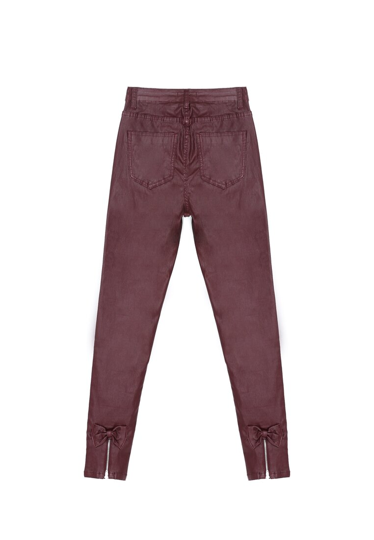 Bordowe Spodnie Watching Over